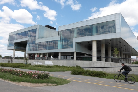 Museum of Contemporary Art, Zagreb. Image taken from the Internet.