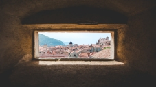 Fort window with a view.