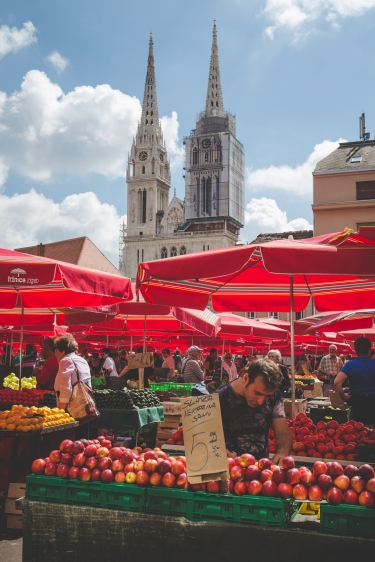 The famous open air market.