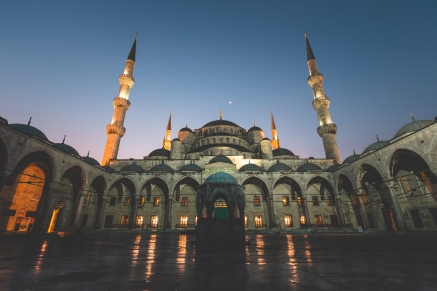 Sunrise Blue Mosque