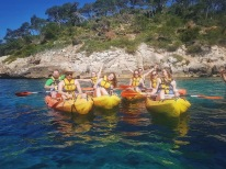 Our Kayaking group.