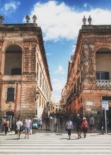 Streets of Ciutadella.