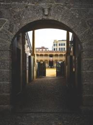 Plaza de toros de Ronda door to Ring.
