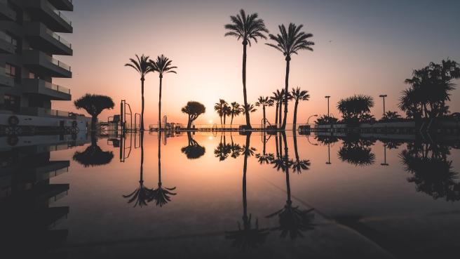 Pool Sunrise 2
