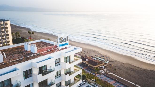 Sol House Drone & Sea