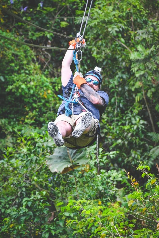 Me Ziplining